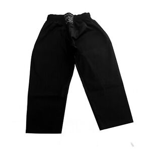 Karate / kick boxing trousers polyester cotton  Black