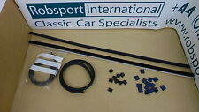 Triumph STAG ** WEATHERSTRIP KIT - DOOR GLASS - Inner,Outer + clips- CAR SET! **