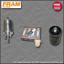 SERVICE KIT VW GOLF MK6 2.0 GTI CCZB FRAM OIL FUEL FILTERS PLUGS (2009-2013)