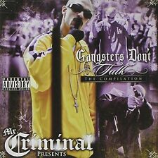 Mr Criminal, Mr. Criminal - Gangsters Don't Talk [New CD]