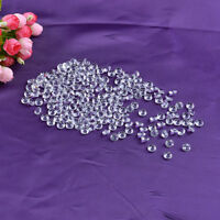 100pcs 10mm Crystal Glass Diamond Confetti Party Decoration Table Scatter Gifts