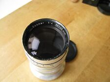 Carl Zeiss 135mm Sonnar f/4 Coated Lens for Contax Rangefinder