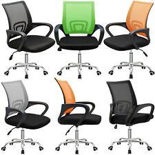Office Mesh Chair Executive Computer Desk Adjustable 360° Ergonomic Fabric Home