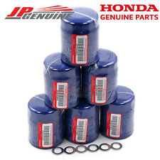 ACURA HONDA OEM GENUINE 15400PLMA02 ENGINE OIL FILTER + DRAIN WASHERS - SET OF 6