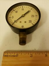 Vintage Usg Gauge 30 10889 1 Steampunk