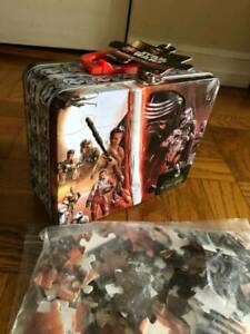 Star Wars 100 pc puzzle and Star Wars lunch box
