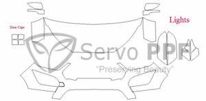 Precut 3M PRO Series Clear Bra Kit for 18+ Ford EcoSport