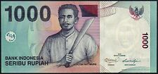 2013 INDONESIA 1000 RUPIAH BANKNOTE * BHP 122837 * aUNC * P-141m *