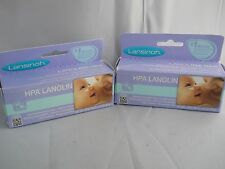 LANSINOH HPA LANOLIN BREASTFEEDING NIPPLE CREAM 1.41oz ( 2pk bundle) exp 2020