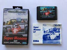 Super Monaco GP Complete with Manual for Sega Mega Drive