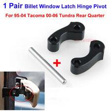 1Pair Billet Window Latch Hinge Pivot For 95-04 Tacoma 00-06 Tundra Rear Quarter