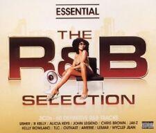 USHER/R KELLY/ALICIA KEYS/JAY-Z/UVM - ESSENTIAL THE R&B SELECTION; 3 CD NEW+