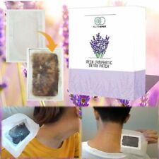 Neck Lymphatic Detox Patch Nutrispot Anti-Swelling Herbal Ginger LymphPads 10pcs