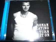 Ronan Keating Turn It On UK Bonus Tracks CD – Like New
