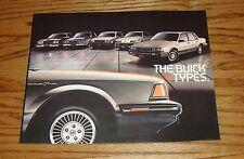 Original 1983 Buick T Type Sales Brochure 83 Skyhawk Riviera Regal Century