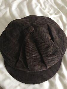 Marks And Spencer Chocolate Bakerboy Style Hat