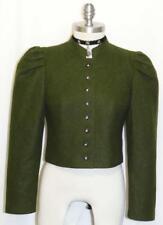 "Loden Dirndl Short WOOL JACKET Coat Hunting Riding German Women WINTER B36"" 6 S"