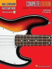 HAL LEONARD BASS METHOD - COMPLETE EDITION BOOK/ONLINE AUDIO 695074