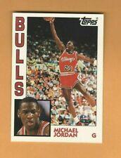 1992-93 Topps Archives Michael Jordan #52 Chicago Bulls 1984 Retro