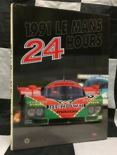 1991 LE MANS 24 HOURS OFFICIAL YEARBOOK ANNUAL ENGLISH MAZDA 787B JAGUAR XJR12