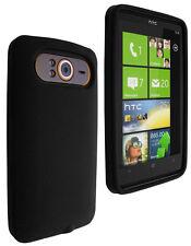 Housse silicone noire HTC 7 Trophy