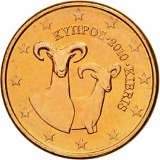 [#580452] Cyprus, Euro Cent, 2010, FDC, Copper Plated Steel, KM:78