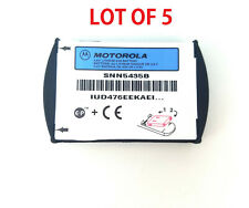 5x New Oem Original Motorola Battery Snn5435B For Motorola T280i - Lot Of 5