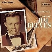 JIM REEVES Welcome to My World CD ALBUM  NEW - NOT SEALED