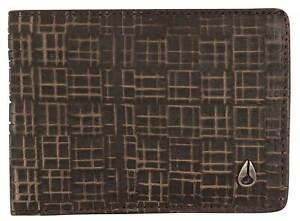Nixon Cape SE Bi-fold Wallet - Dark Brown - New