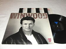 """Steve Winwood """"Roll With It"""" 1988 Rock LP, VG+, Vinyl, Columbia House Issue"""