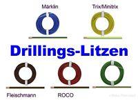 [49,9 - 58ct/m] Drillingslitze 0,14 mm²  5m Ringe   AUSWAHL  *NEU*