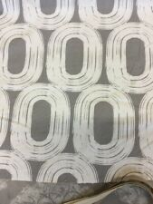 Scion Loop Curtain Fabric In Grey By The Metre Slight Seconds