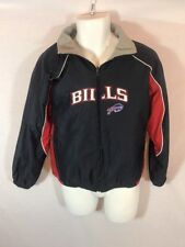 Men's REEBOK Buffalo Bills Reversible Sports Jacket Winter Coat SMALL
