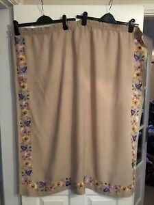 Single Small Beautiful Embroided Curtain