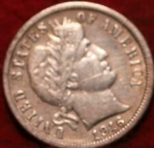1916-S San Francisco Mint Silver Barber Dime