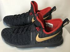 Mens Nike Zoom KD 9 Limited Gold Medal USA Olympic 833396-470 Size 10.5