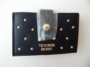 Tasche Kartenetui Victoria s Secret neu  supersüss mit Logo  schwarz goldfarben
