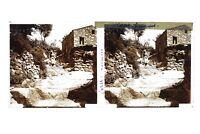 Corsica Lavatrici Foto Stereo T2L2n Placca Da Lente Vintage