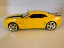 2006 CHEVROLET CAMARO CONCEPT CAR 1/24 SCALE DIECAST MODELYELLOW AND BLACK