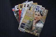 CHESS MAGAZINES Lot of 6 EUROPE ECHECS magazines 2007 2010 2013-14 Francais