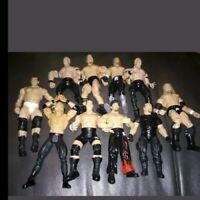 Lot Of 10 Jakks Pacific Titan Sports WWE WWF Classic Superstars Action Figures!