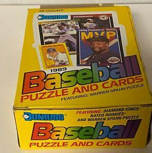 1989 Donruss Baseball MLB Hobby Box - 36 Packs - Ken Griffey Jr & Sheffield RC?