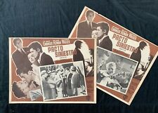 Strangers On A Train Farley Grainger Alfred Hitchcock Mexican Lobby Cards 1951