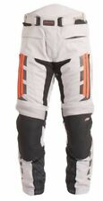 RST Pro Series 1417 Paragon V Mens Textile Trouser Silver-Flo. Red 30 WAIST