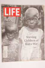 Life 1968 Starving Children Biafra War July Pall Mall Humphrey S&H Stamps - M03