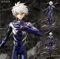 Anime Neon Genesis Evangelion EVA Nagisa Kaworu 9'' PVC Figure Toy