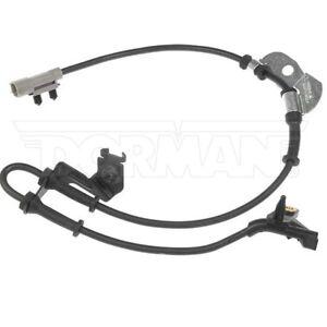 For Chrysler Voyager Front Driver Left ABS Wheel Speed Sensor Dorman 970-025