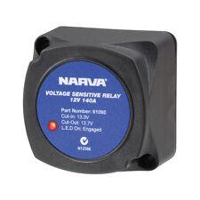 NARVA 61092 Voltage Sensitive Relay 12v VSR Isolator 140a Dual Battery 61092bl
