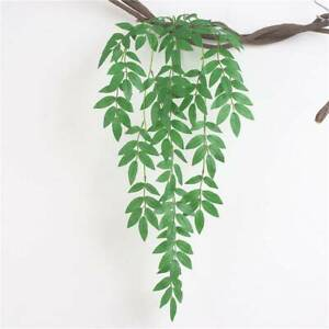 Leaf Artificial Willow Artificial Vine Garland Window Leaves Hanging Plant LI