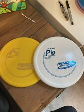 2 Pack - Innova R-Pro Pig Yellow and White - 175g Pop Top - Rare Heartbeat